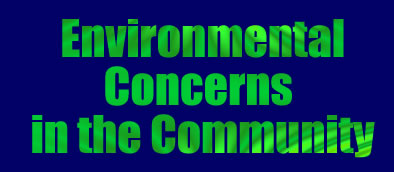 Title - Environmental Concerns in the Commuinty